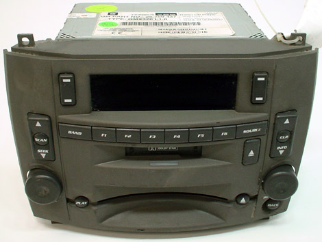 2003 cadillac cts factory stereo tape cd player oem radio. Black Bedroom Furniture Sets. Home Design Ideas