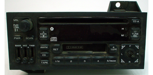 1995-1999 Chrysler Sebring Factory Stereo Tape CD Player OEM Radio
