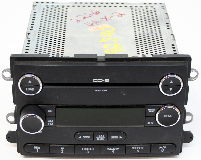 2008-2009 Ford Taurus Factory 6 Disc Changer MP3 CD Player Radio