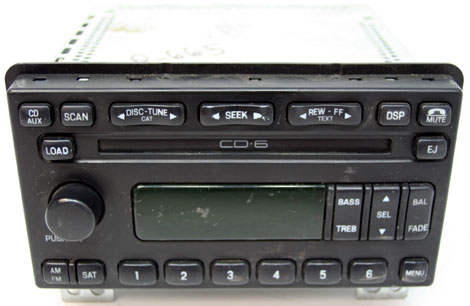 2005 Ford Explorer 6 Disc Changer CD Player Factory Stereo OEM Radio