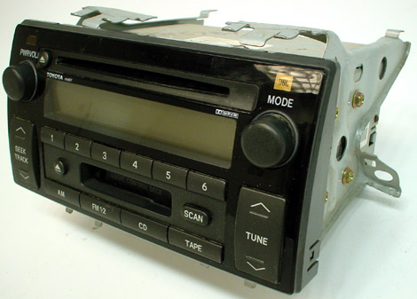 2005 2006 toyota camry le xle factory jbl stereo tape cd player oem radio r 2340. Black Bedroom Furniture Sets. Home Design Ideas