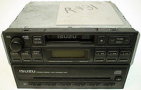 1998-2002 Isuzu Rodeo Factory Tape 6 Disc CD Player Radio