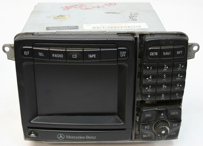 2002 2003 mercedes s430 factory stereo nav navigation cd for 2003 mercedes benz s430 problems