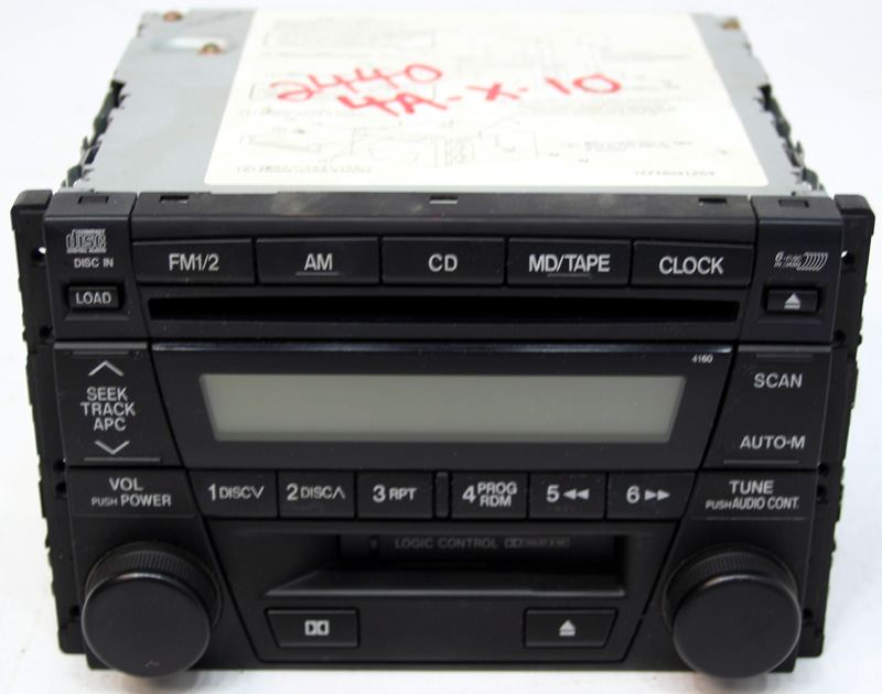 2001 2002 mazda millenia factory stereo 6 disc changer cassette cd player bose system r 2440 1