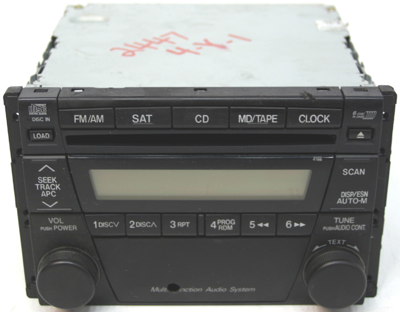 2001 2002 mazda millenia factory stereo 6 disc changer cd player bose oem radio r 2447 1