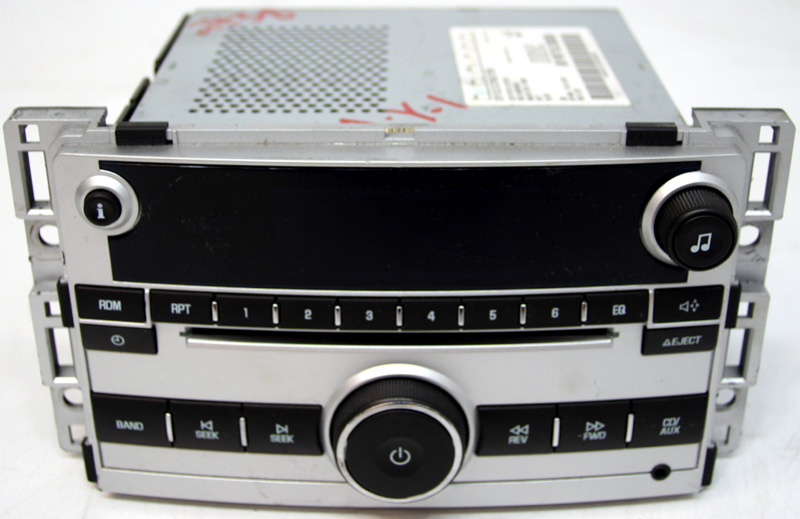 2009 2010 2011 chevy malibu factory stereo am fm cd player. Black Bedroom Furniture Sets. Home Design Ideas