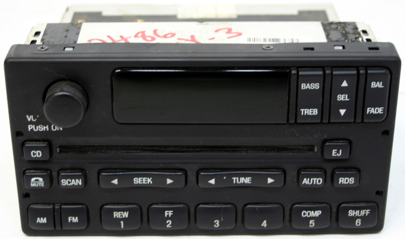 1999-2004 Ford 150 Pickup Truck Factory Stereo Single Disc CD Player OEM Radio