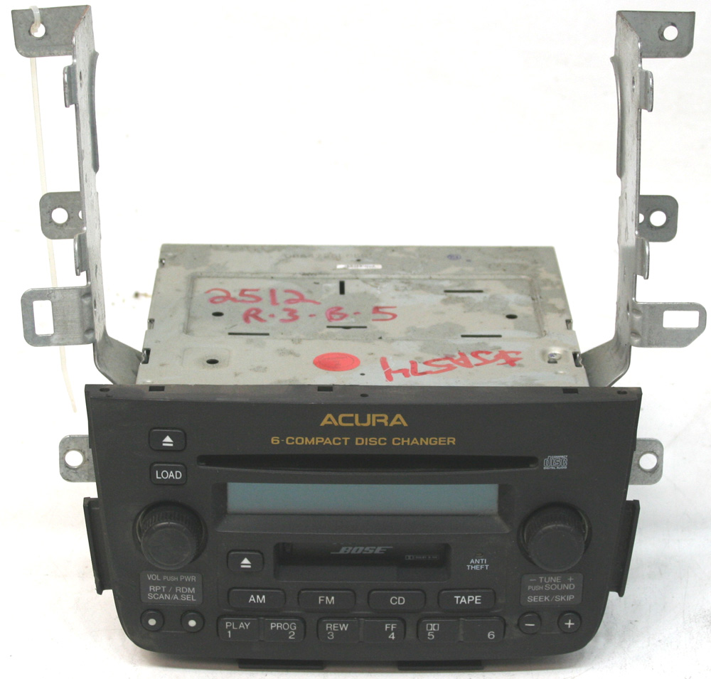 2001-2004 Acura MDX Factory Stereo Tape BOSE 6 Disc Changer CD Player OEM Radio