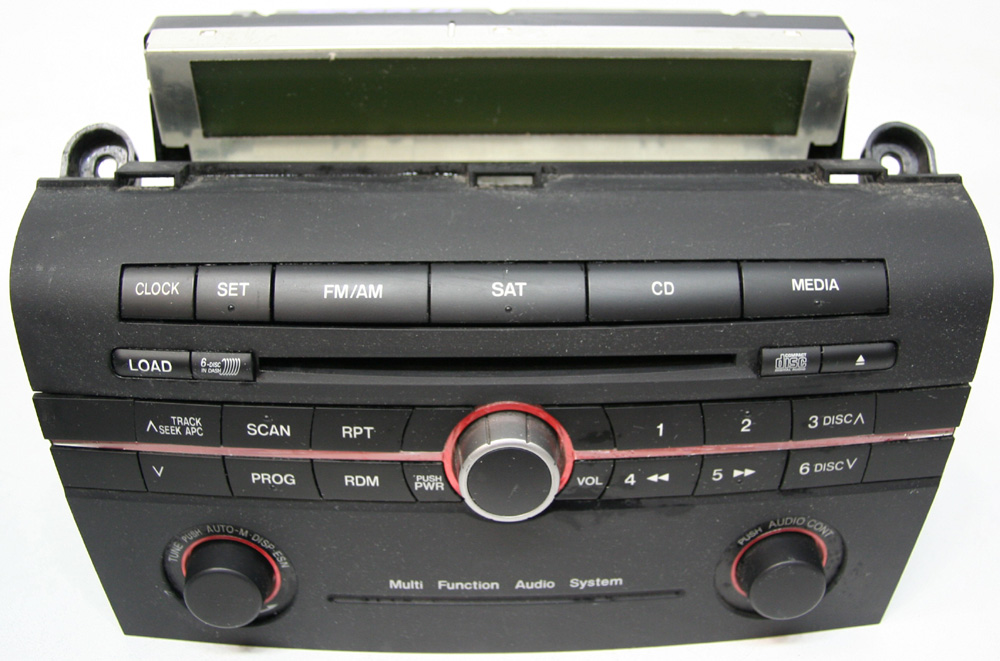 2006 2007 mazda 3 factory stereo 6 disc changer cd player. Black Bedroom Furniture Sets. Home Design Ideas