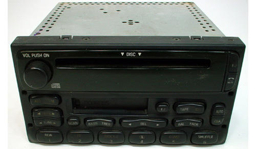 1999-2002 Mercury Cougar Factory Stereo Tape Cd Player Oem Radio