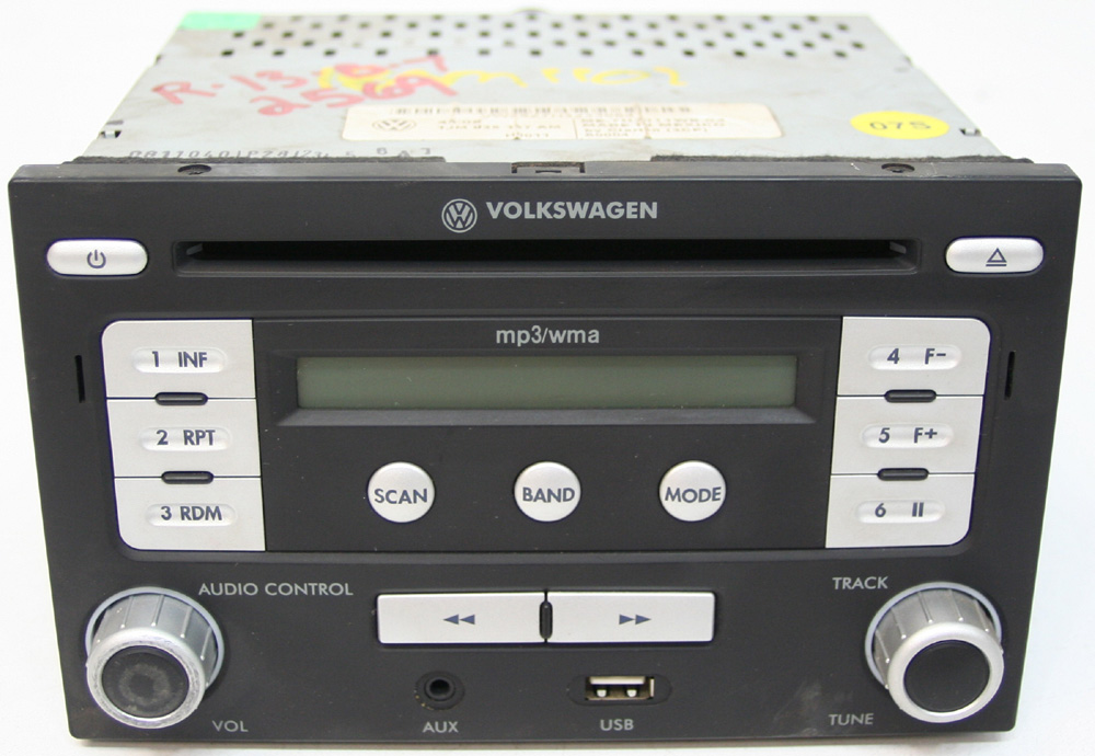 2008 2011 volkswagen jetta factory stereo usb mp3 aux input cd player radio r 2569 1 Home Theater System Connection Diagrams Home Theater System Connection Diagrams