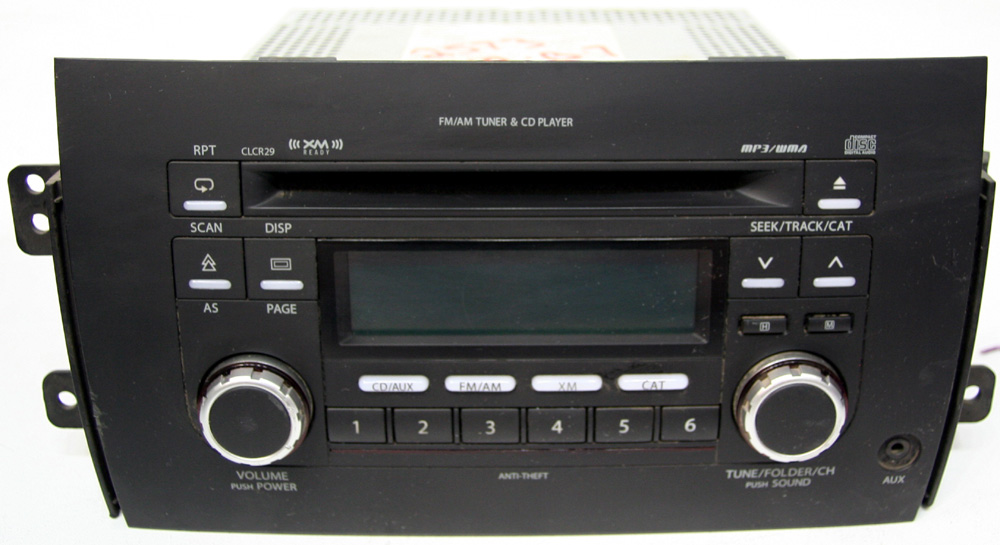 2007 2008 2009 2010 2011 suzuki sx4 factory stereo mp3 cd