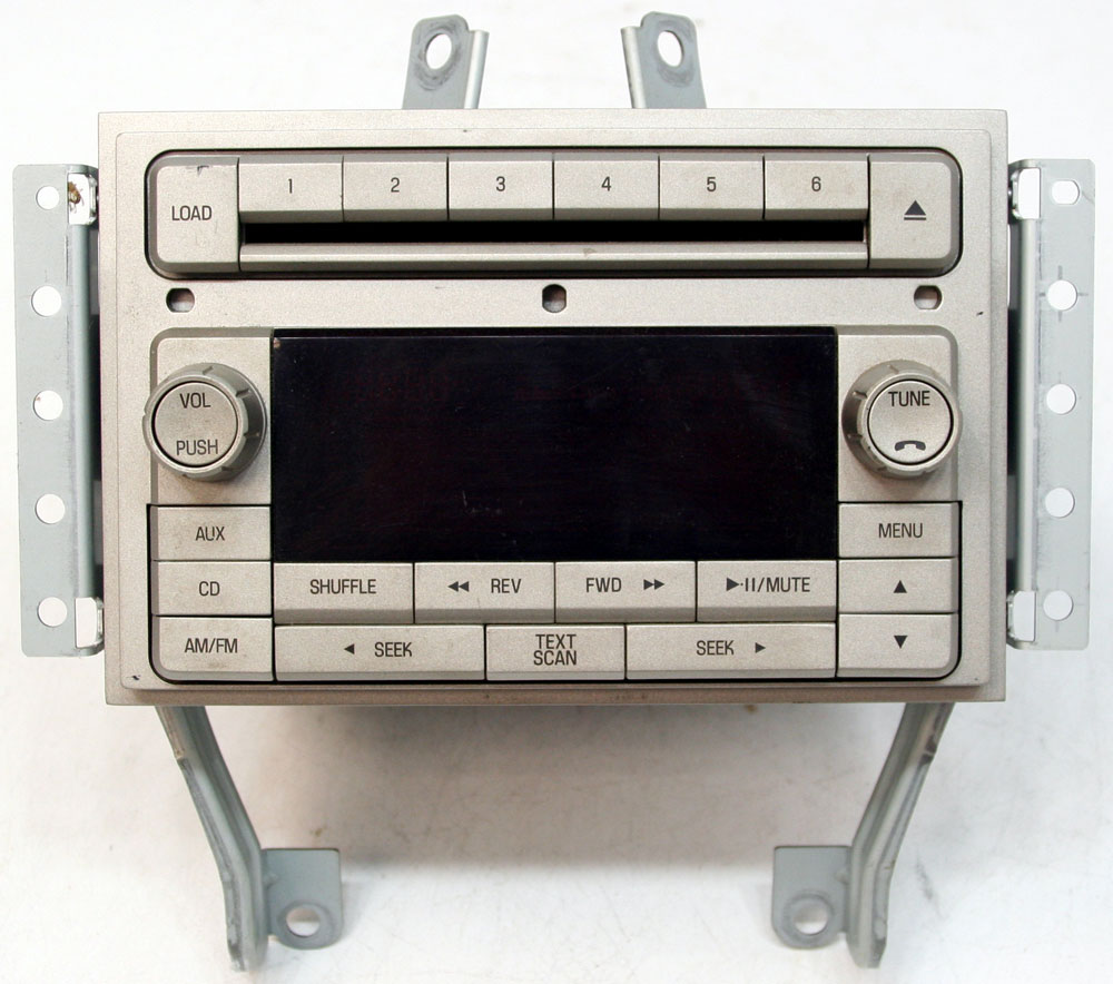 2007 lincoln mkz factory stereo mp3 6 disc changer cd. Black Bedroom Furniture Sets. Home Design Ideas