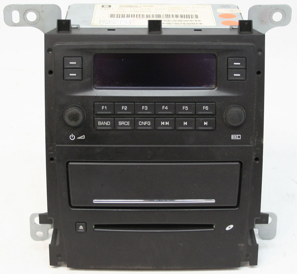 2005 2006 Cadillac Sts Factory Stereo Am Fm Cd Player Oem