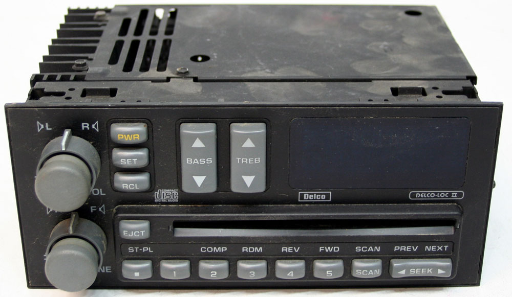 1992 1993 Chevy Caprice Factory Stereo AM FM CD Player OEM Radio R 2692 5