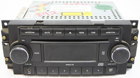 2005 2007 Jeep Grand Cherokee Factory Am Fm Aux Stereo Cd