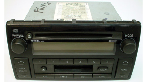 2002 2004 toyota camry le factory radio cd player r 844. Black Bedroom Furniture Sets. Home Design Ideas
