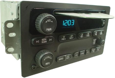 factory audio wiring diagrams chevy tahoe 1999 2006 chevy colorado factory audio wiring 2004-2006 chevrolet colorado factory am/fm stereo radio cd ...