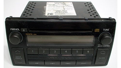 2005 2006 toyota camry le xle modle vehicle factory car radio cd disc player ebay. Black Bedroom Furniture Sets. Home Design Ideas