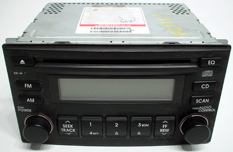 2006-2008 Kia Sedona Factory AM/FM Radio  CD MP3 Player