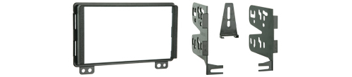Metra 95-5026 Double DIN Installation Kit for Select 2001-up Ford, Lincoln and Mercury Vehicles