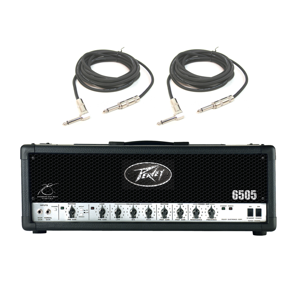 peavey 6505 electric guitar metal 120w amplifier speaker tube amp head cables ebay. Black Bedroom Furniture Sets. Home Design Ideas