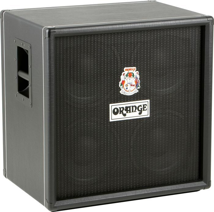 orange amps obc410 600 watts 4x10 inch bass speaker cabinet with atp80 horn black obc 410. Black Bedroom Furniture Sets. Home Design Ideas