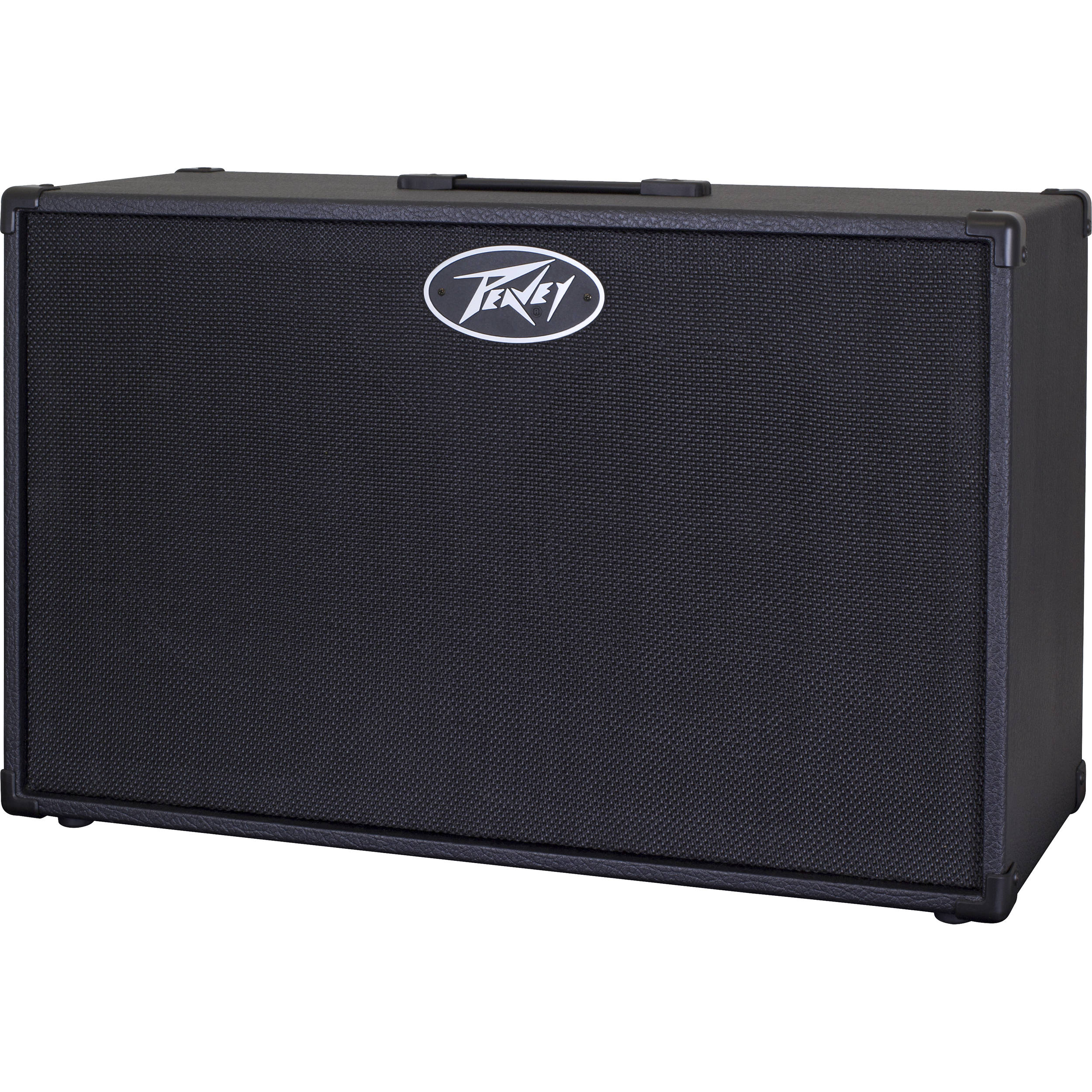 peavey 212 extension cabinet 2x12 guitar cab with 80 watts rms power rating ebay. Black Bedroom Furniture Sets. Home Design Ideas