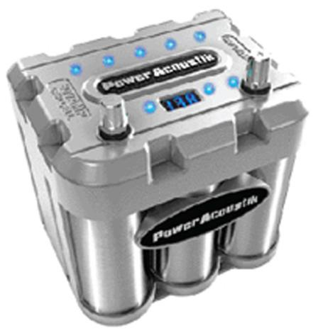 power acoustik capcell 800 car audio 800 amp capacity capacitor 2008 capcell 800