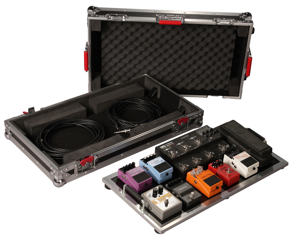 gator cases g tour pedalboard lgw large tour grade pedal board for 10 14 pedals with 3m dual. Black Bedroom Furniture Sets. Home Design Ideas