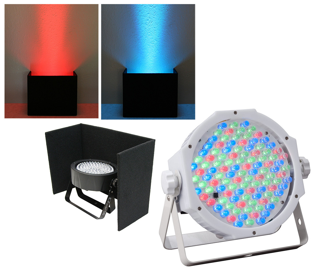 American dj lighting jelly par profile rgb led compact for Lighting packages for new homes