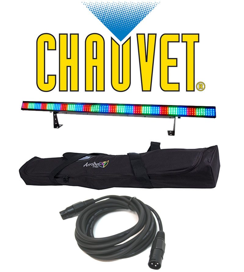 Chauvet lighting dj colorstrip wash led color mixing light for Lighting packages for new homes
