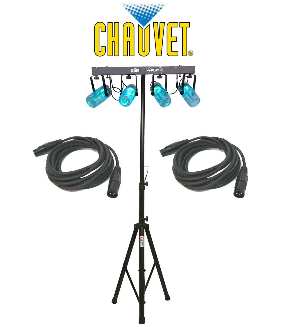 Chauvet dj lighting 4playcl beam effect stage led light for Lighting packages for new homes
