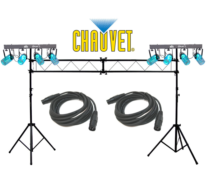 Chauvet dj lighting 2 4playcl beam effect stage led for Lighting packages for new homes