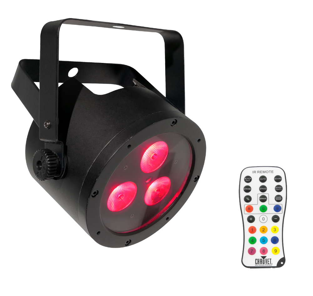 Chauvet dj lighting slimpar hex 3 irc low profile rgbaw for Lighting packages for new homes