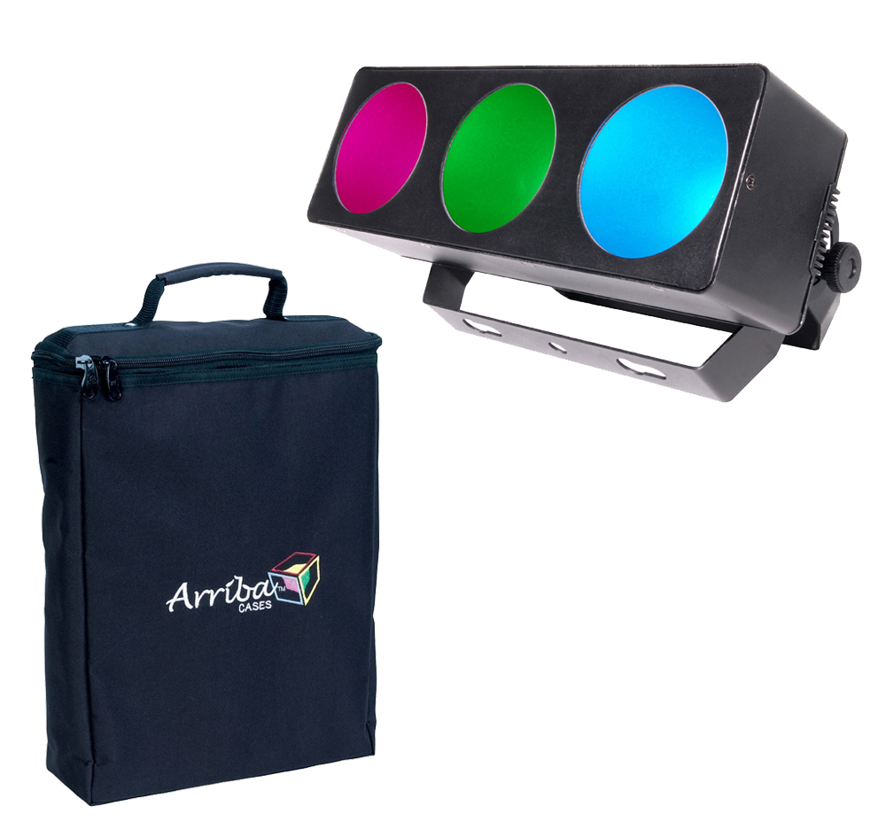 chauvet dj lighting core 3x1 linear tri color rgb pixel mapping led wash light with arriba travel. Black Bedroom Furniture Sets. Home Design Ideas