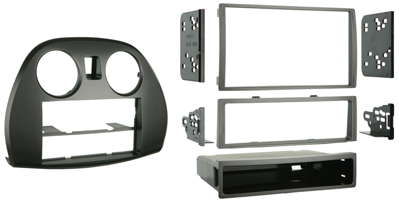 Metra 99-7010 Single / Double DIN Installation Kit for 2006-2012 Mitsubishi Eclipse Vehicles
