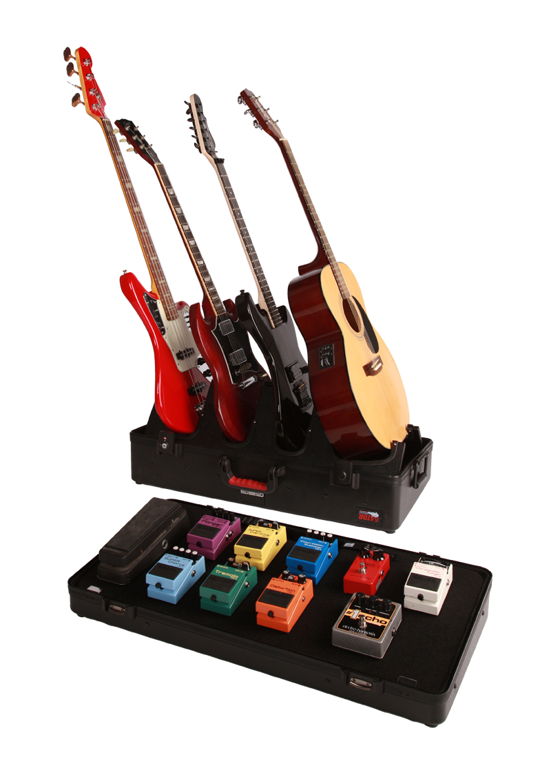 gator cases g gig box tsa el new electric guitar case stand pedal board box. Black Bedroom Furniture Sets. Home Design Ideas