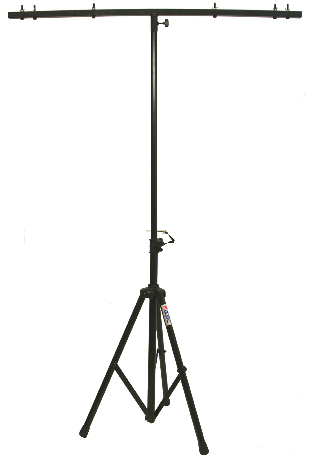 pro audio dj adjustable tripod stand with top t bar for par cans  wash or universal lighting
