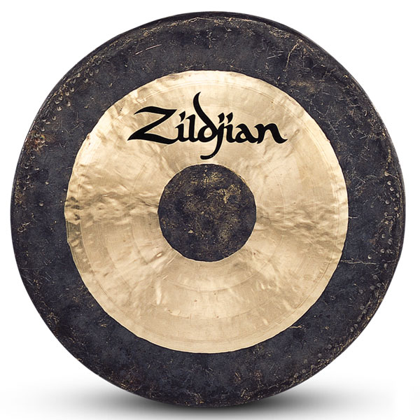 "Zildjian 40"" Hand Hammered Gong Made In China - Traditional Finish P0502 - Used"