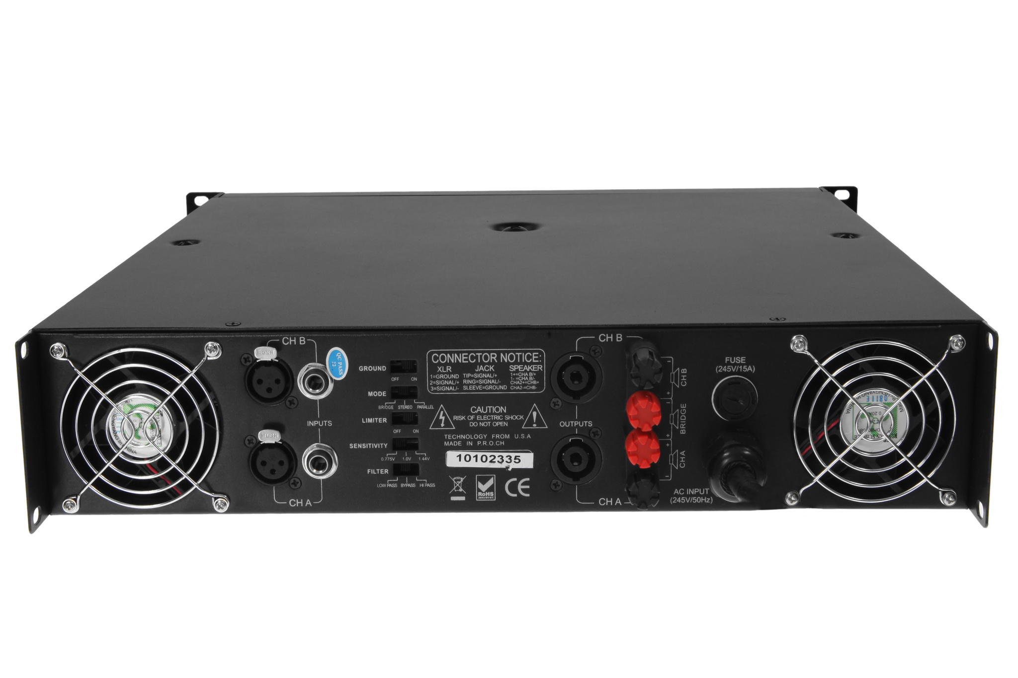 American Audio VLP 2500 Pro Audio Club 2200 Watt Power