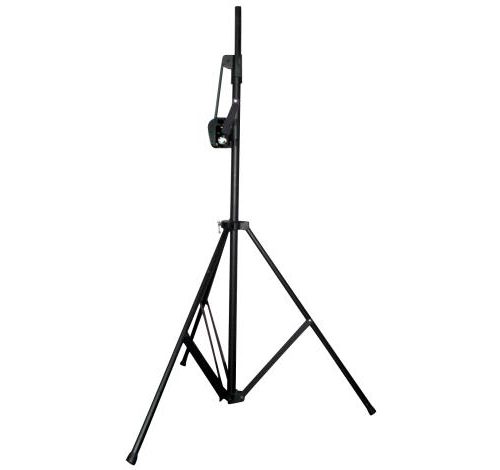 american dj crank 2 black speaker  u0026 light tripod  79 lbs  capacity
