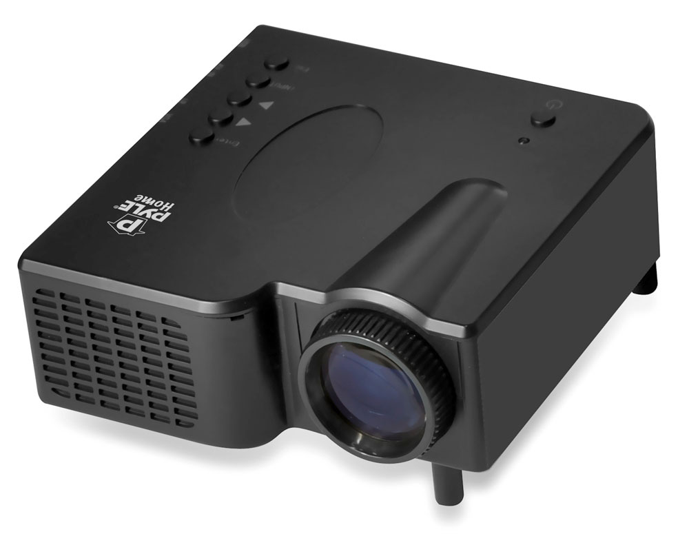 pyle home prjg45 multimedia mini projector w   vga  av