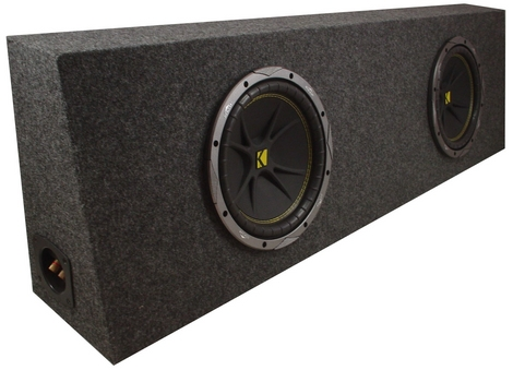 Loaded Dual Kicker C10 10 Inch Truck Subwoofer Box