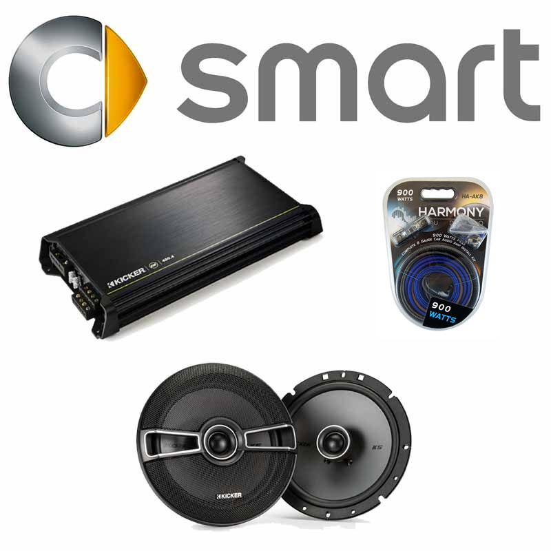 fits smart fortwo 2008 2010 factory speaker replacement. Black Bedroom Furniture Sets. Home Design Ideas
