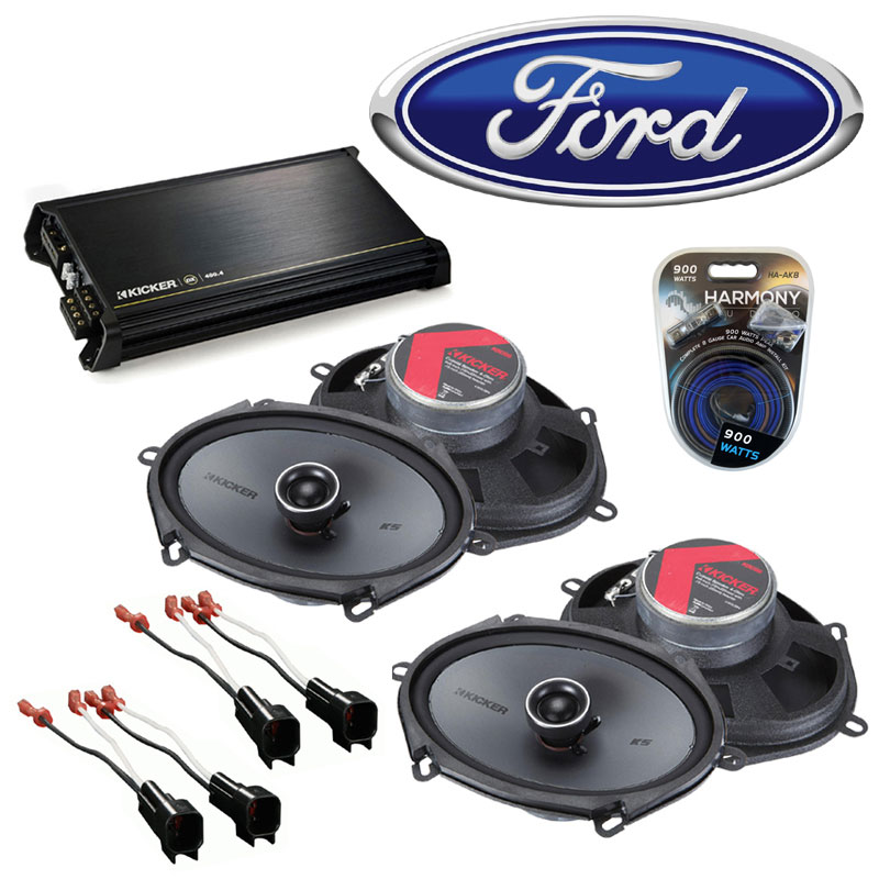 ford amplifier wiring diagram with Ford Escape 2001 2012 Factory Speaker Replacement Kicker 2 Ksc68 Dx400 on Tv Antenna Pre lifier Schematics besides 1007265 Wiring Diagram 1951 F 1 A besides Hollis co uk john zombie likewise Mustang Mach 460 Wiring Diagrams moreover 2000 Chevrolet 2500 Express Van Wiring.