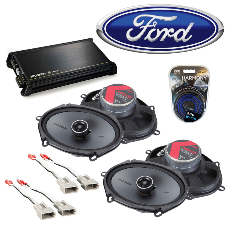 Fits Ford F 150 1997 2003 Factory Speaker Replacement