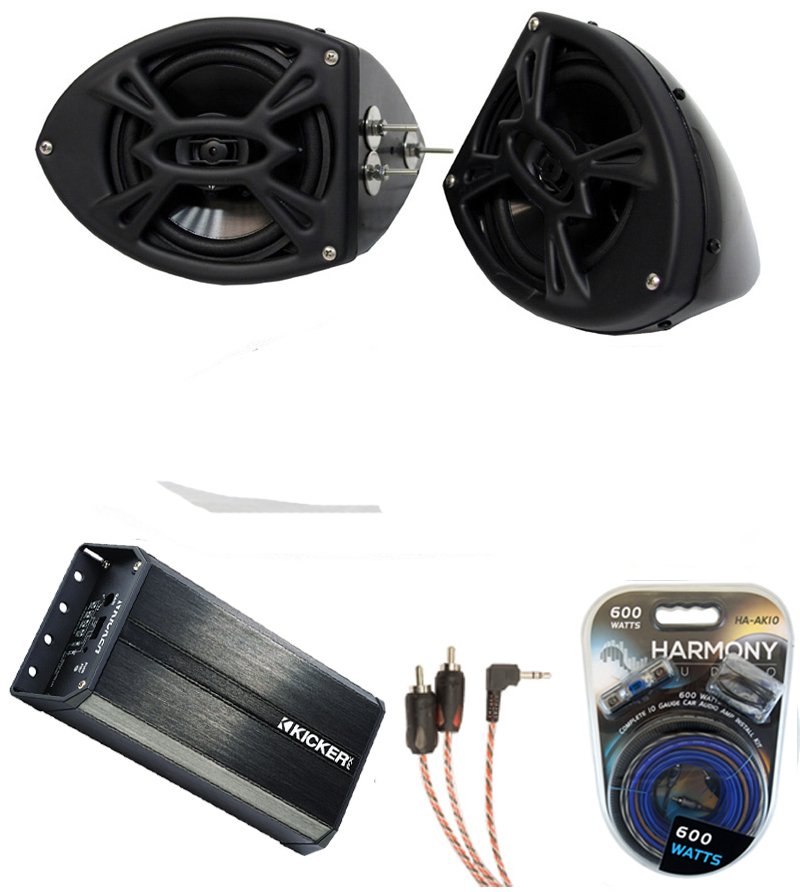 Yamaha Car Audio: Yamaha Wave Runner PWC Rockford R152 & Kicker PXA300.4 Amp